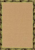 Frascati Fronds Outdoor Rug - 5 ft x 7ft 8in