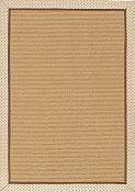 Frascati Parchment Outdoor Rug - 4 ft x 6 ft
