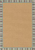 Lakeview Outdoor Rug -2ft 6in by 7ft 8in - Aqua