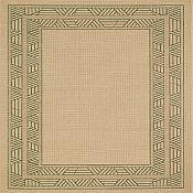 Seabreeze Millstone Outdoor Rugs - Leaf Green
