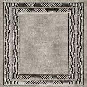 Seabreeze Millstone Outdoor Rugs - Black