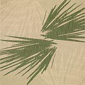 Seabreeze Palm Shade Rug - Leaf Green