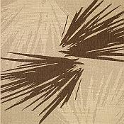 Seabreeze Palm Shade Rug - Coffee