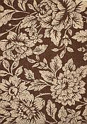 Seabreeze Petals Chocolate Rug - 7ft 10in by 10ft 10in