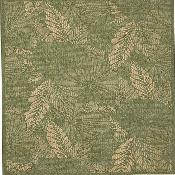 Seabreeze Petals Spruce Rug - 5ft 3in by 7ft 6in