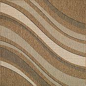 Seabreeze Tides Rug - Earth - 5ft 3in by 7ft 6in
