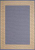 Solaria Dresden Outdoor Rug - 3ft 11in by 5ft 3in - Chambray
