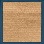 South Beach Canvas Sapphire Blue Outdoor Rug