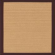 South Beach Canvas Bay Brown Outdoor Rug