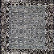 Sterling Crown Rug - 5 ft 3 in x 7 ft 6 in - Blue