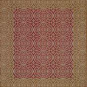Sterling Crown Outdoor Rugs - Henna