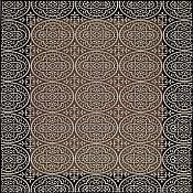 Sterling Crown Rug - 3 ft 11 in x 5 ft 3 in - Bronze