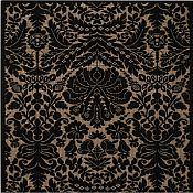 Sterling Damask Rug - 3 ft 11 in x 5 ft 3 in
