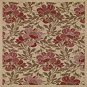 Sterling Flora Rug - 2 ft 7 in x 9 ft  6 in - Cream