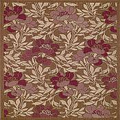 Sterling Flora Rug - 3 ft 11 in x 5 ft 3 in - Bronze