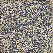 Sterling Jardin Rug  - 2ft 7in x 9ft 6in - Blue
