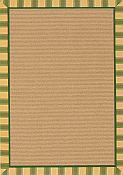 Sun Porch Outdoor Rug - 8ft x 11ft  - Evergreen