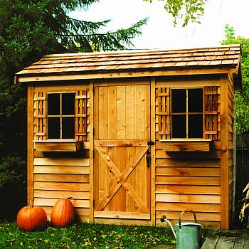 Cabana Storage Shed 12x10ft