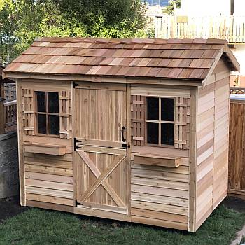 Cabana Storage Shed 9x6ft