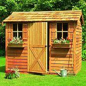 Cabana Storage Shed
