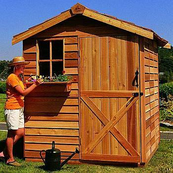 Cedar Storage Sheds Offer Beauty and Versatility