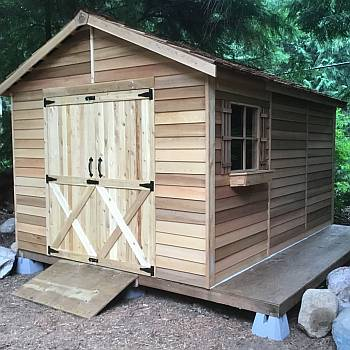 Rancher Storage Shed 10x12