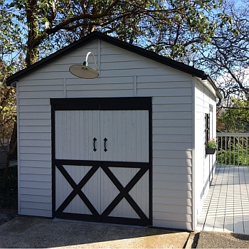 Rancher Storage Shed 10x16