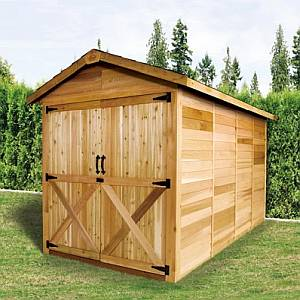 Rancher Storage Shed 6x12
