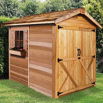 Rancher Storage Shed 6x6