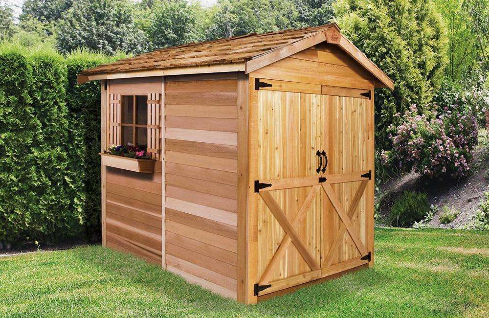 Outdoor Garden Sheds &amp; Storage Shed Kits