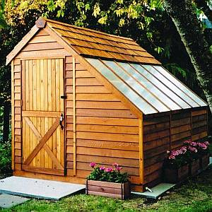 Cedar Greenhouse Kit 8x12