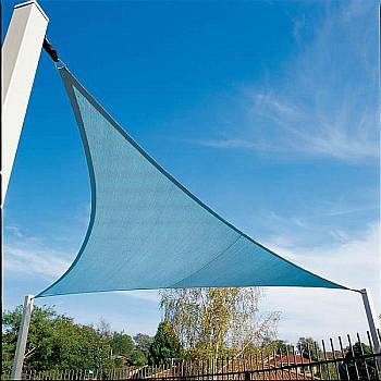 Shade Sails - Triangle Ocean Blue 9ft 10in