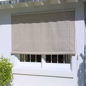 Coolaroo Roll Up Window Shade - Pebble 4ft x 6ft