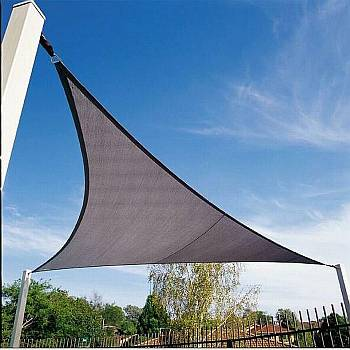 Shade Sails - Triangle Bluestone Coolaroo 16ft 5in