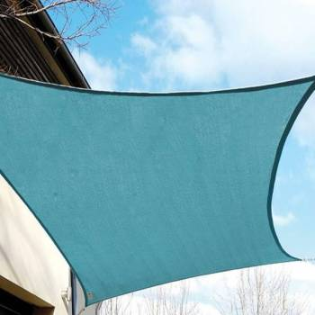 Shade Sails - Square Ocean Blue 11ft 10in