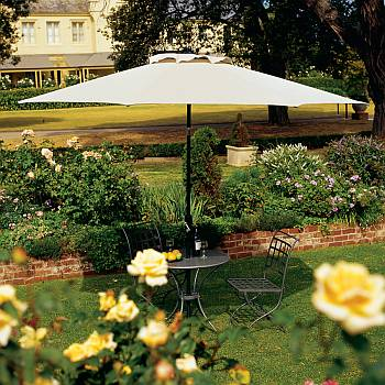 Outdoor Aluminum Market Umbrellas