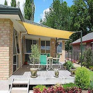 Shade Sails - Square Desert Sand Coolaroo 11ft 10in