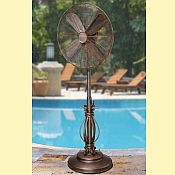 DecoBreeze Outdoor Adjustable Fan - Prestigious