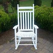 Outdoor Slat Rocking Chair