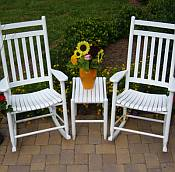 Outdoor Hardwood Furniture by Dixie Seating Company