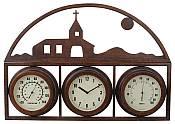Mission Design Temperature Gauge with Clock