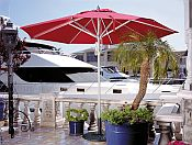 11ft Premier Series Stainless Steel Market Umbrella