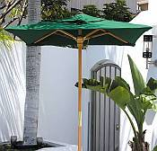 4.5ft Square Huntington Series Patio Umbrella