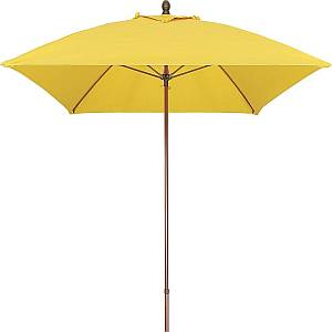 Commercial Umbrella - 6ft Square - Fiberglass Ribs