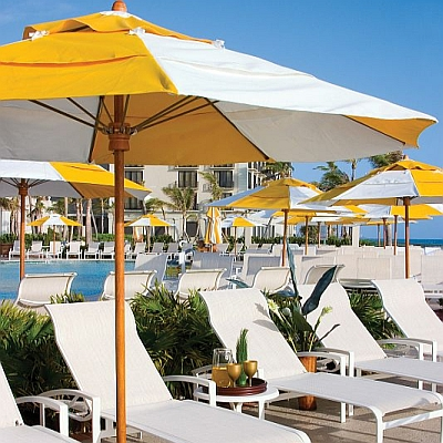 Bridgewater Commercial Fiberglass Ribbed Umbrellas