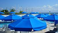 9ft Commercial Beach Umbrella at Sea Gate Resort in Florida