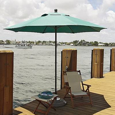 Lucaya Commercial Fiberglass Ribbed Umbrellas