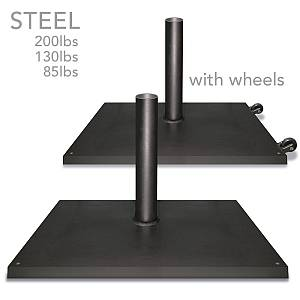 Steel Umbrella Base Plate Stands