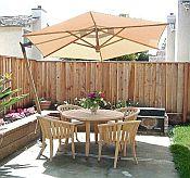 Tuscany Sidepost Umbrella