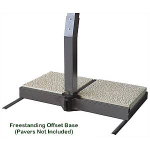 Offset Freestanding Base - FSB-OS